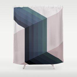 Steps Shower Curtain