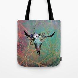 Longhorn Daydreams Tote Bag