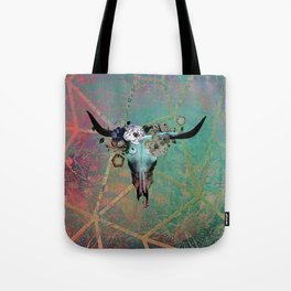 Longhorn Daydreams Tote Bag