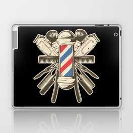 Barber Accessories | Beard Hairdresser Laptop & iPad Skin