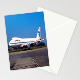 PanAm 747 Clipper Stationery Cards