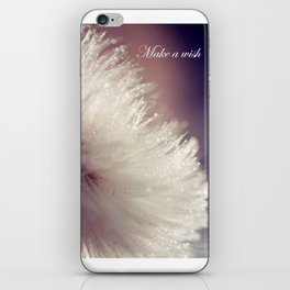 Fluffy white iPhone Skin