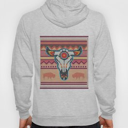 American Native Pattern No. 105 Hoody
