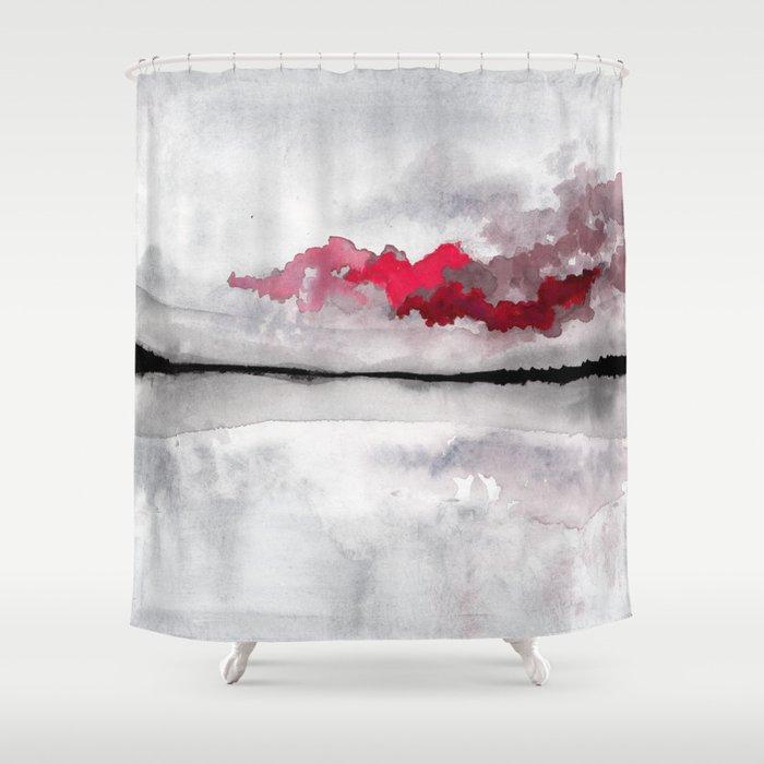 Mysterious Cloud Shower Curtain