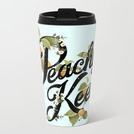 Peachy Keen : Mint Metal Travel Mug