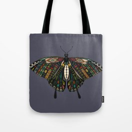 swallowtail butterfly dusk Tote Bag