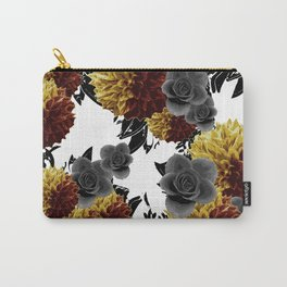 CAFFEINE FLOWERS Carry-All Pouch