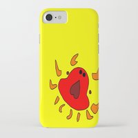 crab iPhone & iPod Cases featuring Crab by Happy Fish Gallery