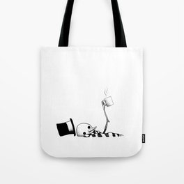 The Hot Chocolate Tragedy Tote Bag