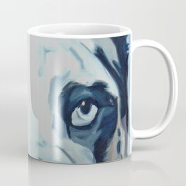 Great Dane in Purple Coffee Mug