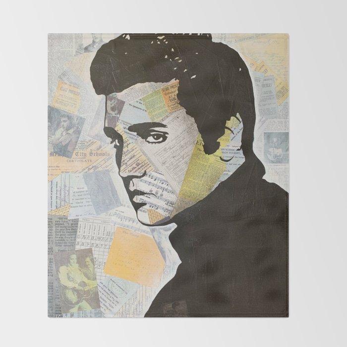Elvis «Love Song» Throw Blanket