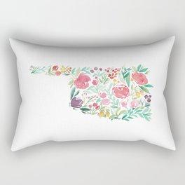 Bloomin' Oklahoma Rectangular Pillow