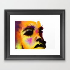 Gemini - Left Framed Art Print