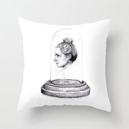 Polly Morgan Throw Pillow