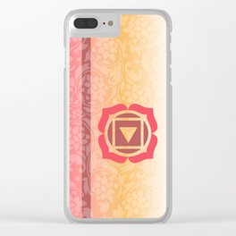 Muladhara  - the root Clear iPhone Case