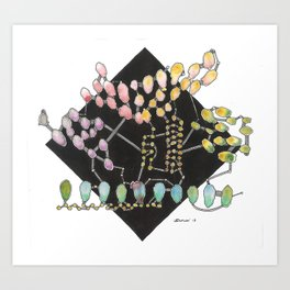 Word of Mouth  Art Print