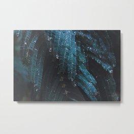 Winter Rain Metal Print