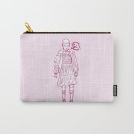 Eleven in pink. Stranger Things things. Carry-All Pouch