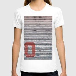 Abstract Corrugated Metal Texture - No T-shirt