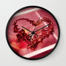 Cold Hearted? Wall Clock
