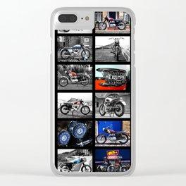 The Bonneville Collection Clear iPhone Case