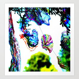 Colours in the Wind from bywhacky's Kettfest Art Print