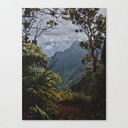 The Garden Isle Canvas Print