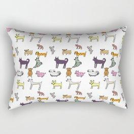 Dog is a Doggo Rectangular Pillow