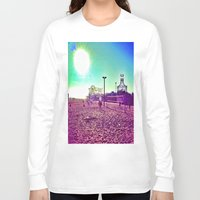 santa monica Long Sleeve T-shirts featuring Santa Monica by SefoG