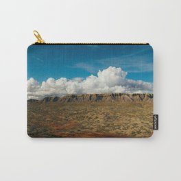Colorful Utah Desert Plateaus Carry-All Pouch