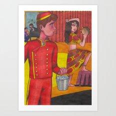 Room 29 Art Print