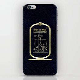 Anubis Detail - Weighing of the Heart iPhone Skin
