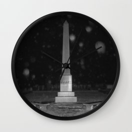 Dramatic Obelisk Wall Clock
