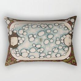 spanning seasons Rectangular Pillow