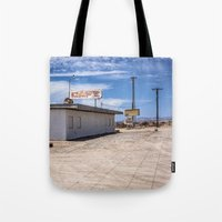 cafe Tote Bags featuring cafe by petervirth photography