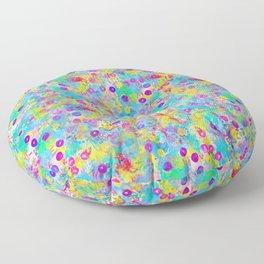 Bubbles! Original design by Mimi Bondi Floor Pillow