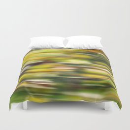 Autumn wind (abstract) Duvet Cover