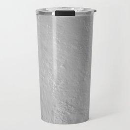 White painted texture Travel Mug