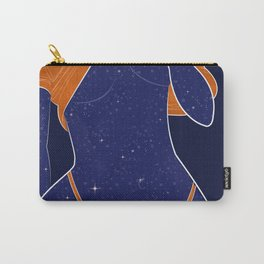 NEED SOME SPACE - Illustration, Space, Galaxy, Girl Carry-All Pouch