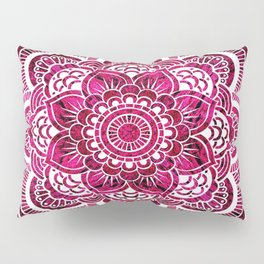 Mandala Hot Pink Colorburst Pillow Sham