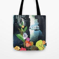 Cave Garden IV Tote Bag