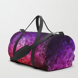 Ultra Violet Diamond Rainbow Duffle Bag