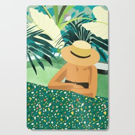 Chill #illustration #travel Cutting Board