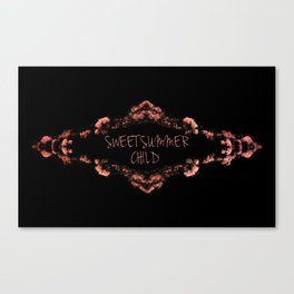 Sweetsummer Child Canvas Print