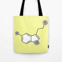 Serotonin Flower Tote Bag