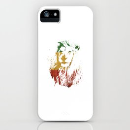 "Unique Retro Animal Design A Nice Illustration Of A Lion King ""Lion King"" T-shirt Jungle Animal iPhone Case"