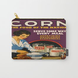 Vintage poster - Corn Carry-All Pouch