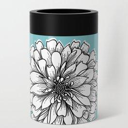 Zinnia Flower Can Cooler