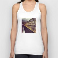 subway Tank Tops featuring Subway by wendygray