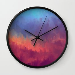 Glitched into Abstraction 1 Wall Clock